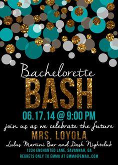 Bachelorette Bash Bachelorette Party by EnchantedDesigns4U on Etsy
