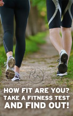 Fitness - Find out how fit you are