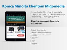 Konica Minolta, lider w branży, podpisała umowę o współpracy w zakresie marketingu i e-marketingu z agencją #Migomedia.
