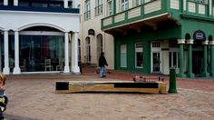 NEW PRODUCT - The Harrington Bench has found the perfect spot in Muizenberg, Cape Town.