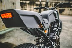 """Yamaha MT-07 """"The Onyx Blade"""" by Rough Crafts"""