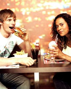 Bradley James & Angel Coulby