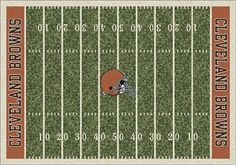 Cleveland Browns Home Field Area Rug. You know I would totally have this :)