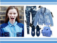 """Genie Jeans"" by hipsterfever on Polyvore"