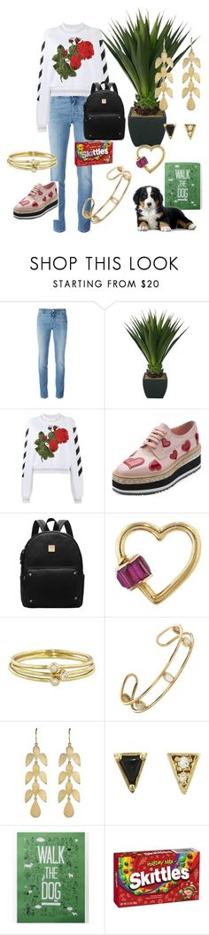 """The Good Life"" by joanneylang23 ❤ liked on Polyvore featuring Givenchy, Off-White, Prada, Jennifer Meyer Jewelry, Mociun and Irene Neuwirth"