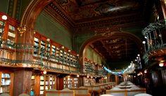 """Biblioteca """"Gheorghe Asachi"""" din Iaşi votată dreptcea mai frumoasă bibliotecă din lume"""