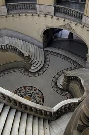 Opera House stairs, Cuba