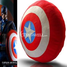 Cool Shield Five-pointed Star Pillow: The Avengers Captain America Plush Toys -- why are you so expensive????