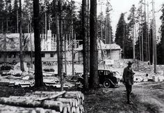 1936; building the Wolf's Lair in East Prussia