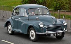 Morris Minor 1955. Mum and Dad's 2nd car. Replaced the 'low lite' convertible.