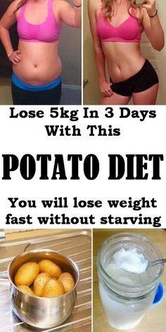 Lose 5kg of fat in 1 week