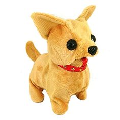 Walking Chihuahuas w/ Sound | This Cute Chihuahua makes Walks & makes Squeaky Barking Sounds! Super-soft Fur and Huge Button Eyes. Perfect for Party Favors, Easter basket treats, Christmas stocking stuffers. Includes 2 Amazon Basics AA Batteries. Seller: Merchant Mike 30 Days Money Back Satisfaction Guaranteed http://www.amazon.com/Generic-Walking-Chihuahuas-w-Sound/dp/B01FJ5Z3D4?ie=UTF8&m=A2VN4XYBTFVGAB&qid=1465459457&ref_=sr_1_41&s=merchant-items&sr=1-41