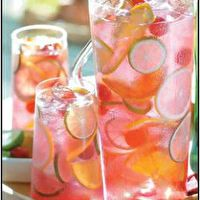 Raspberry Tequila Sangria by Hopeless Domestic
