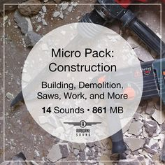 14 demolition, building, saws, brush chipper, and other work sounds. This is a free sound fx library. Sound Effects, Libraries, Construction, Building, Free, Buildings, Library Room, Bookcases, Bookstores
