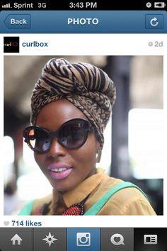 Turbans!@Jaqueline Confortin Dos Santos