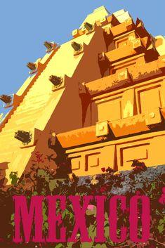 Disney Vacation Kingdom: World Showcase Travel Posters