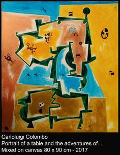 Carloluigi Colombo, esorinism art, painting, Riolo Terme, Italy, Italia, acrylic, surrealism, Emilia Romagna