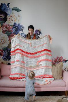 Tassel Blanket DIY /