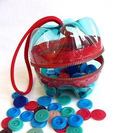 Bolso de las botellas de PET recicladas! Ayuda / X.style_Hats »SAShE.sk - Diseño eslovaco hecho a mano