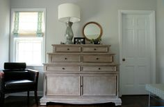 Benjamin Moore Gray Owl paint on dresser Room Colors, Wall Colors, Paint Colours, Refurbished Furniture, Painted Furniture, Gray Owl Paint, Benjamin Moore Grey Owl, Furniture Inspiration, Bedroom Inspiration