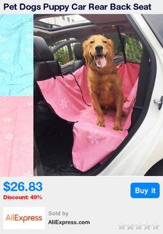 Pet Dogs Puppy Car Rear Back Seat Cover Mat Blanket Hammock Pet Travel Outdoors Supplies Pet Cat Waterproof Bed Pads Protector * Pub Date: 16:17 Jul 6 2017