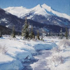Matthew Smith | Red Mountain Creek, Simpson Gallagher Gallery, Fine Art, Cody Wyoming, Yellowstone