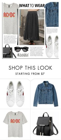"""""""Casual Days"""" by dora04 ❤ liked on Polyvore featuring Marc Jacobs, A.P.C., H&M and Givenchy"""