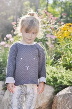 Bunny Sweater (ottobre) and Hosh Pants by Adirondack Inspired