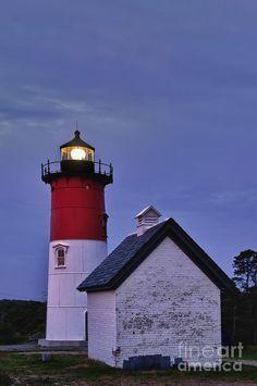 ✯ Nauset Light, Cape Cod National Seashore, Eastham, Cape Cod, MA