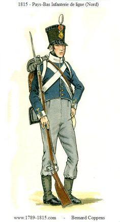 1789-1815 Pays-Bas Infanterie de ligne