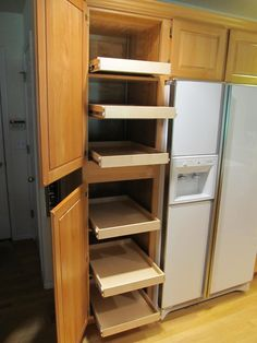 Shelfgenie Of Detroit Will Design Build And Install A Custom Pull Out Pantry Shelving System To Create Lasting Organization For Your Michigan Home