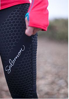 Run with compression to make your workouts that much better. Salomon running apparel