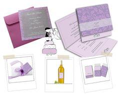 Kartenset für eine elegante Hochzeit! http://www.hochzeitseinladungen ...