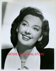 This is an photo made from the original negative. Rosalind Russell, Classic Hollywood, Divas, Beautiful Women, Portraits, Glamour, Stars, Ebay, Vintage