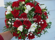 christmas wedding flowers - Google Search