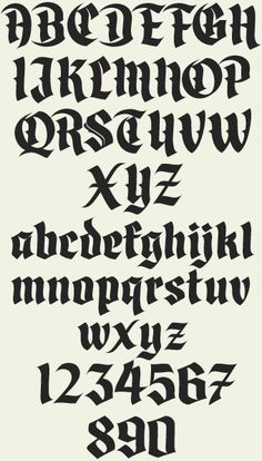 Letterhead Fonts / LHF Divine / Blackletter Fonts