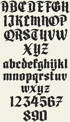 Letterhead Fonts / LHF Divine / Blackletter Fonts