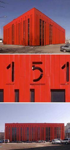 Shtrikh Kod Building, St. Petersburg, Russia / 10 Bizarre Barcode Buildings