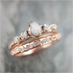 Luxury rose gold engagement ring vintage for your perfect wedding (23)