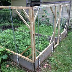 Double Fence For Protecting Veggie Garden From Deer | For The Garden |  Pinterest | Fence, Deer And Fences