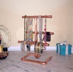 Industrial Design Jewelry Organizer Modern Jewelry by MacAndLexie