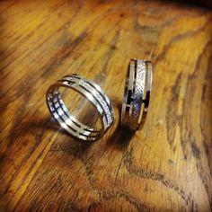 Obrúčky vyrábané na zákazku, podľa návrhu zákazníka. #vysperkujtesa #sperky #obrucky #zlato #brilianty #ano #svadba #wedding #weddingrings #gold #jewerly Wedding Rings, Engagement Rings, Jewelry, Enagement Rings, Jewlery, Jewerly, Schmuck, Jewels, Jewelery