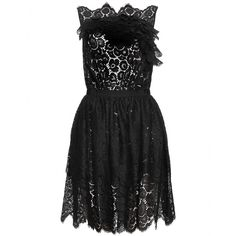 LACE DRESS WITH SKIRT OVERLAY