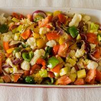 Ovenschotel met paprika en courgette : Koolhydraatarme recepten
