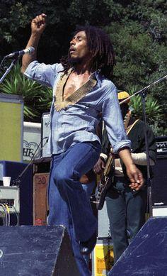 Bob Marley live at Santa Barbara County Bowl, California, USA, 1976