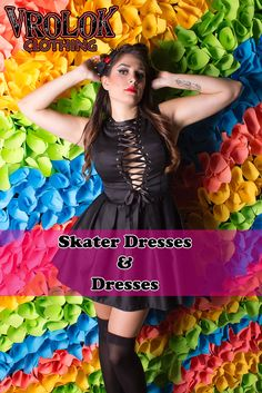 This type of dresses is a must-have for any season, especially, for summer and fall. Skater dresses are good for any body shape: they will help to create the best looks for both skinny and plus size ladies, so get yours NOW!