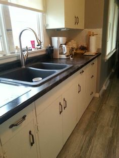 This Is A Kitchen I Completely Redid Using Annie Sloanu0027s Old White Chalk  Paint, Two