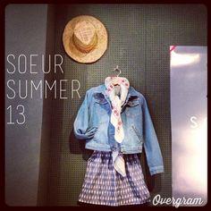 Summer chez soeur Rue Bonaparte Paris, Boutiques, Deco, Hats, Summer, Inspiration, Fashion, Womens Fashion, Boutique Stores