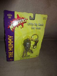 New Little Big Heads The Mummy key Universal Studios Monsters Ser 1 99 Halloween find me at www.dandeepop.com