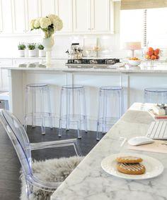 bright, neutral kitchen // Monica Hibbs' Home Tour